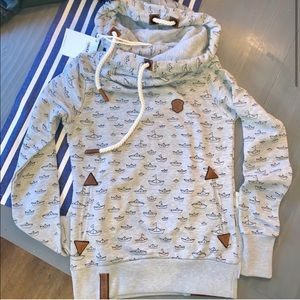 NWT women's naketano naketano hoodie